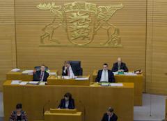 Besuch des Landtags Baden-Württemberg