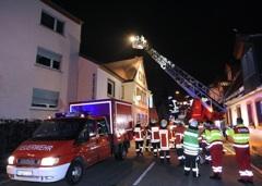 Kaminbrand in Gaststätte